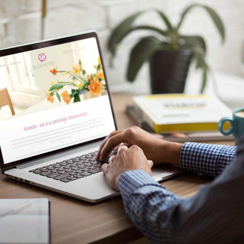 Website Bloemotie