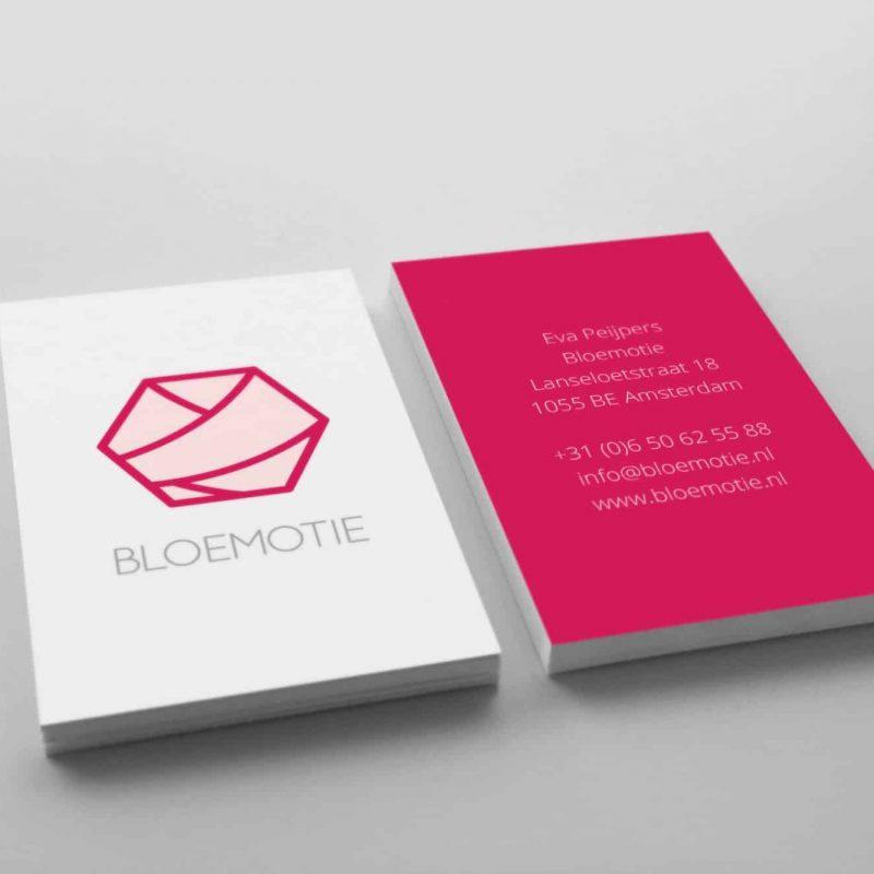 Visitekaartjes Bloemotie