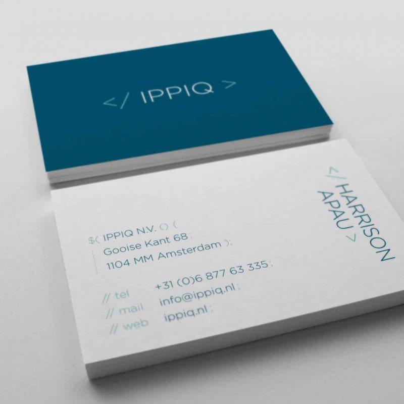 Visitekaartjes IPPIQ