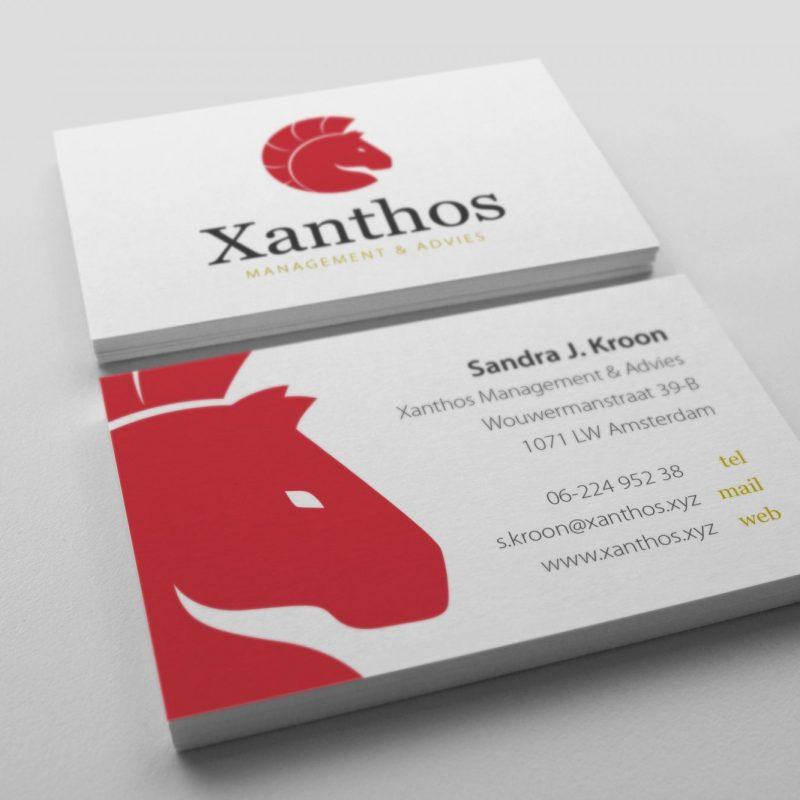 Visitekaartjes Xanthos