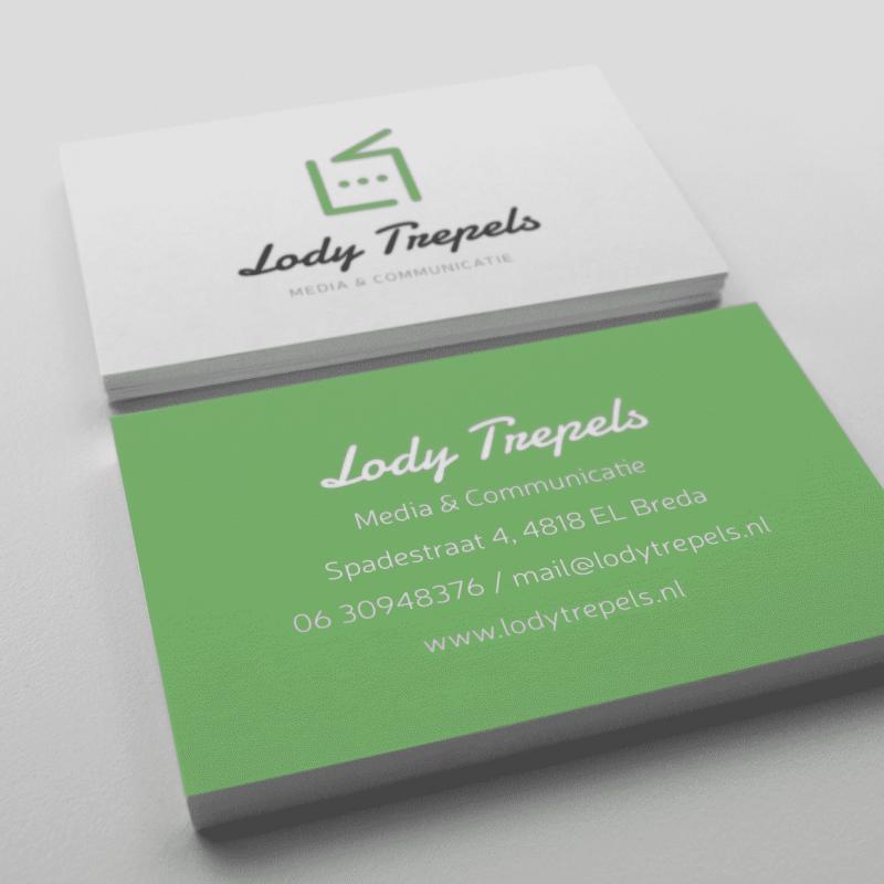 Visitekaartjes Lody Trepels