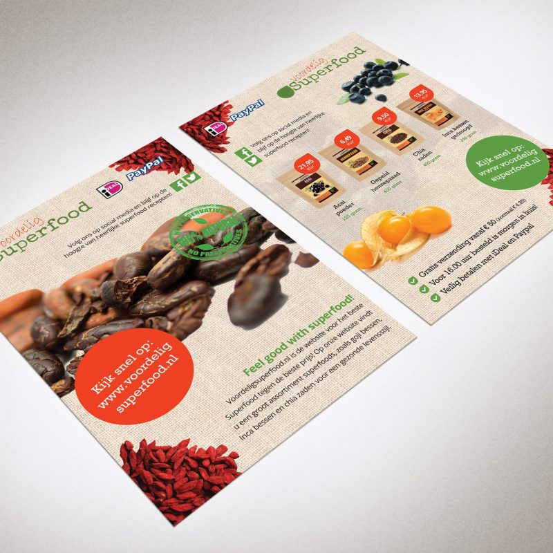 Flyer Voordelig Superfood