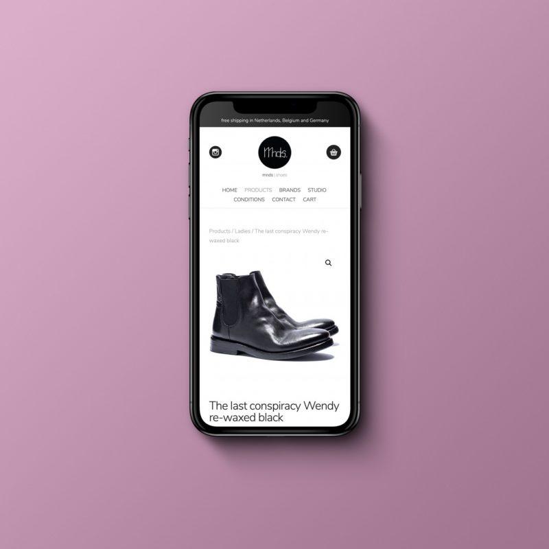 Webshop Mnds shoes